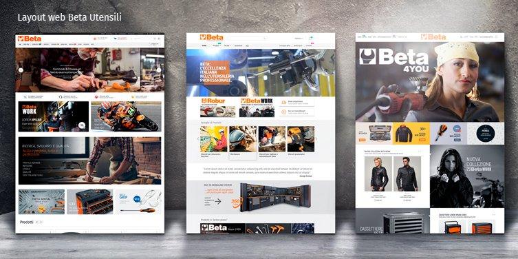 layout web beta